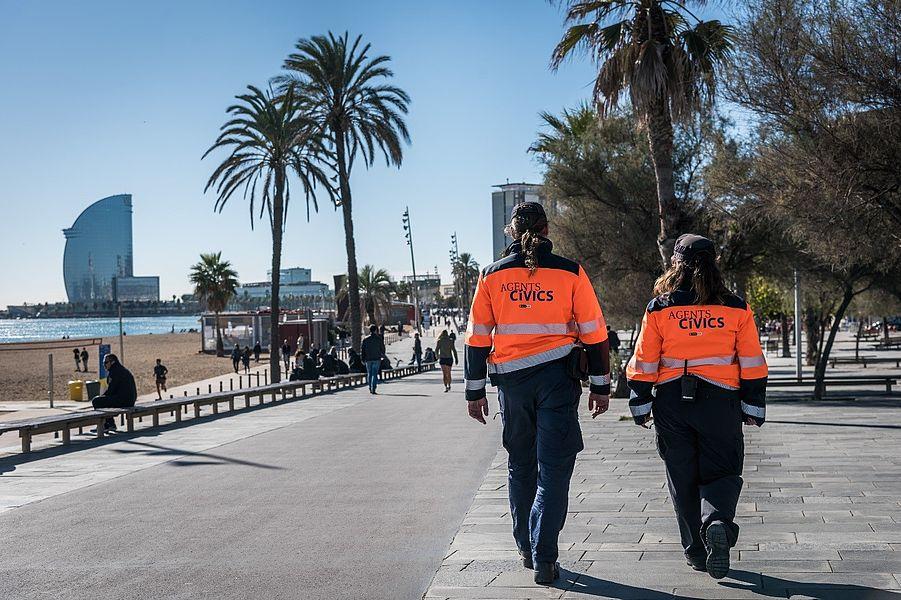 agents civics barcelona turismo de barcelona